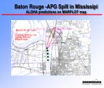 baton rouge apg spill in mississipi aloha predictions on marplot map