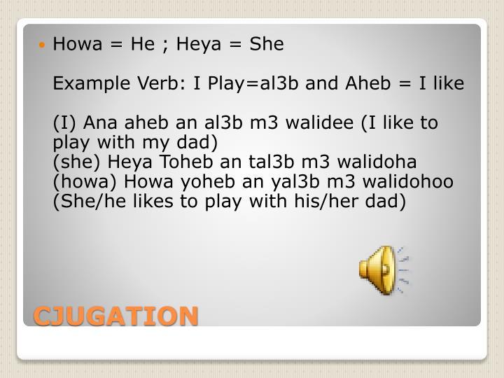 Howa = He ;