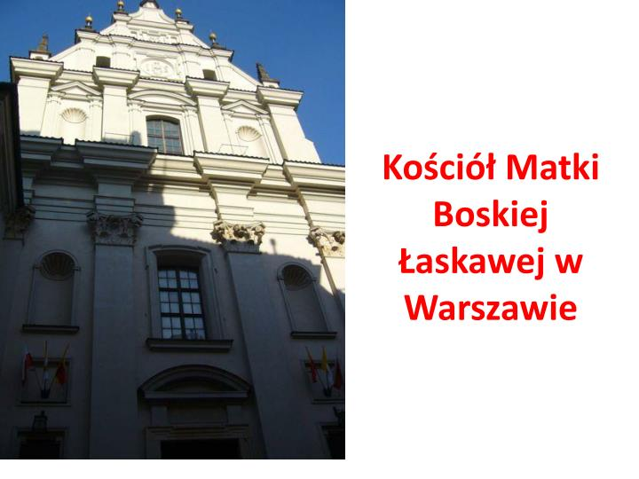 Kościół Matki Boskiej Łaskawej w Warszawie