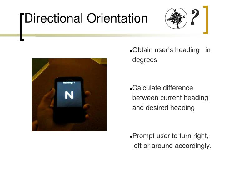 Directional Orientation