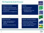 the regularity audit process