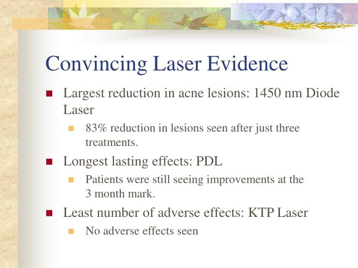 Convincing Laser Evidence