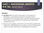 saez v macapagal arroyo g r no 183533 20123