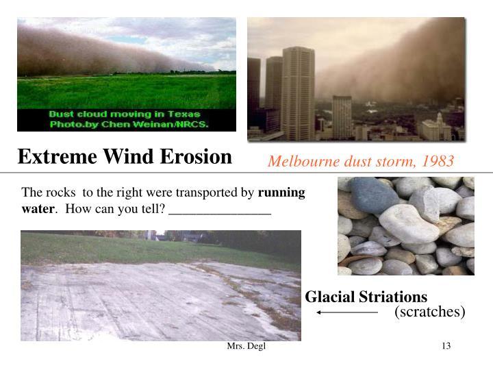 Extreme Wind Erosion
