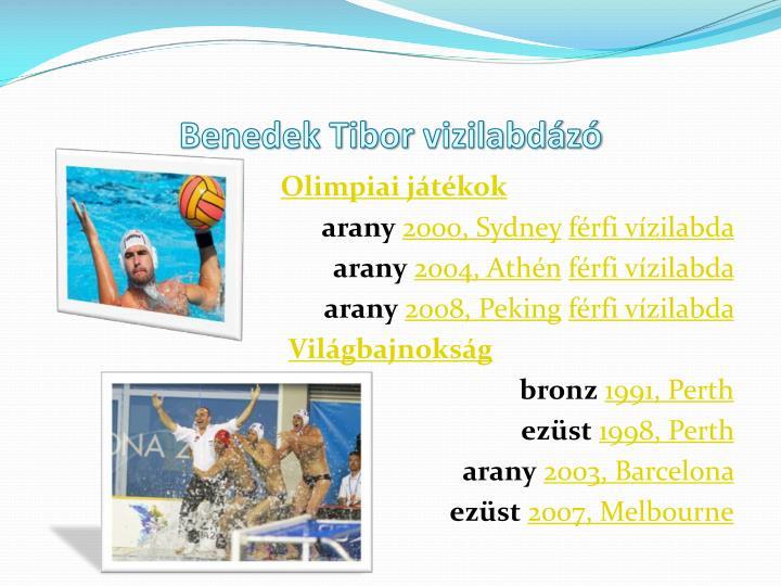 Benedek Tibor
