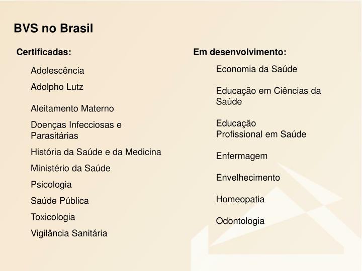 BVS no Brasil