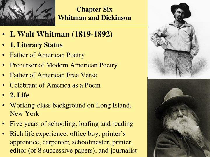 whitman vs dickinson essay help