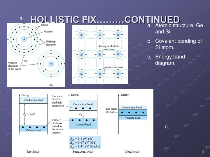 HOLLISTIC FIX………CONTINUED