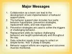 major messages1