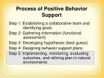 process of positive behavior support2