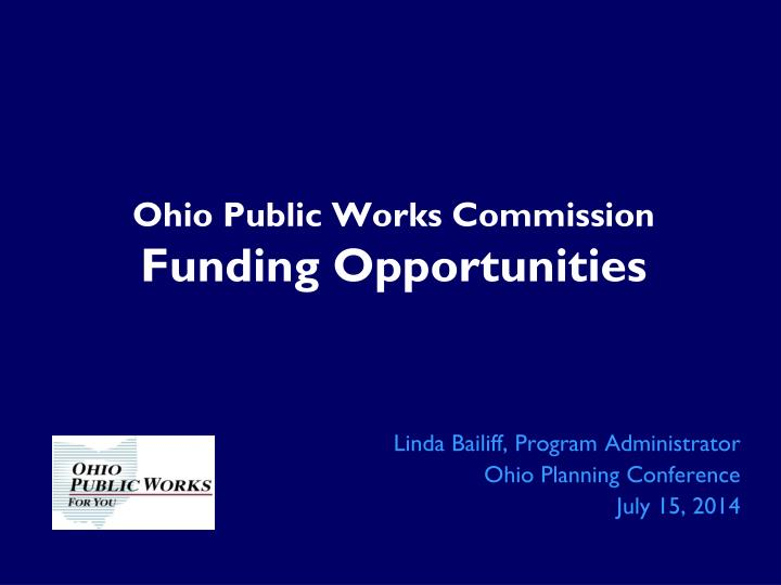 Ohio Public Works Commission