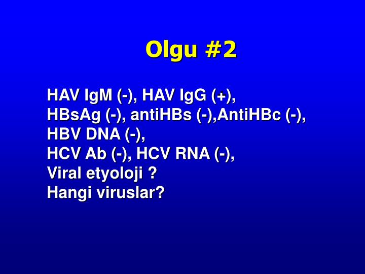 HAV IgM (-), HAV IgG (+),