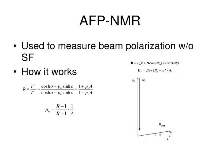 AFP-NMR