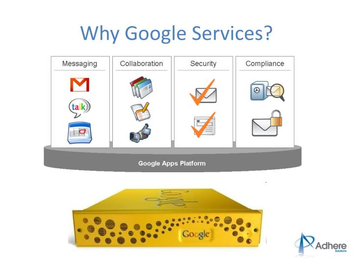 Why Google Services?