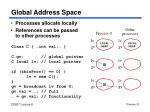 global address space