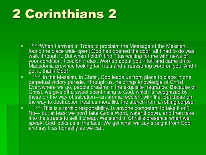 2 Corinthians 2