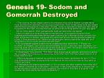 genesis 19 sodom and gomorrah destroyed
