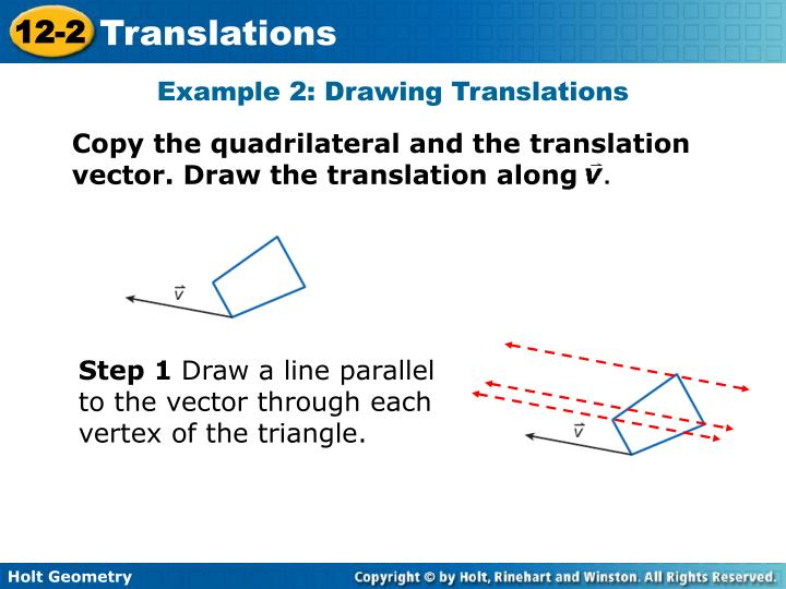 Example 2: Drawing Translations