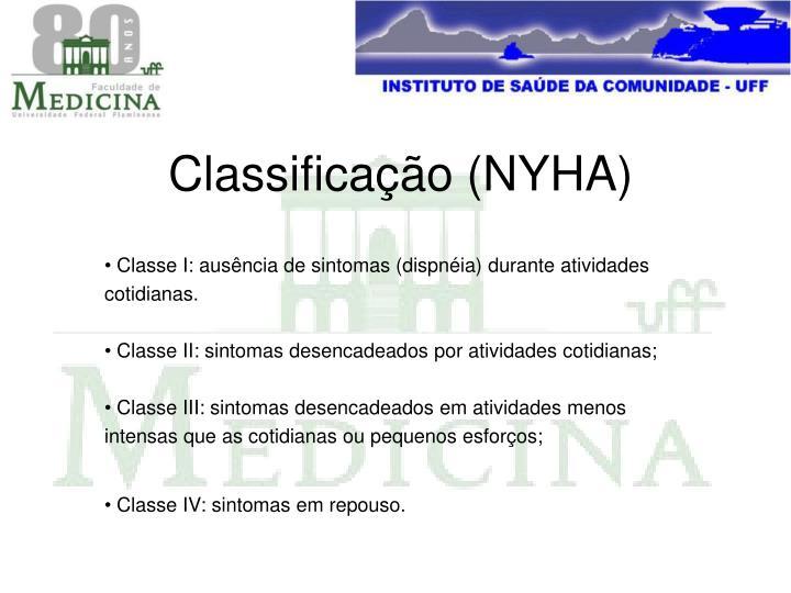 Classificação (NYHA)