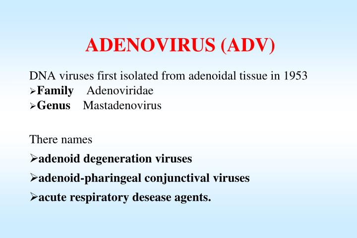 ADENOVIRUS (ADV)