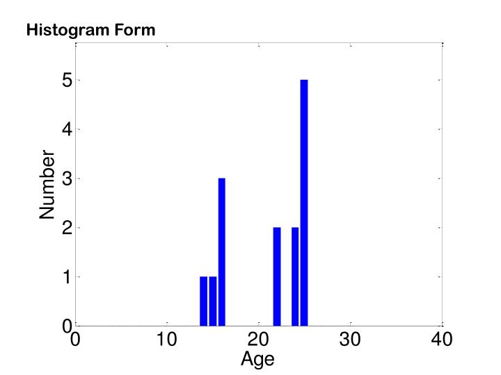 Histogram Form