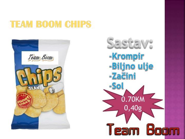 Team Boom Chips