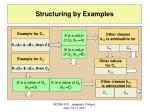 structuring by examples