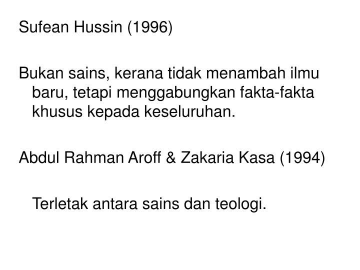 Sufean Hussin (1996)