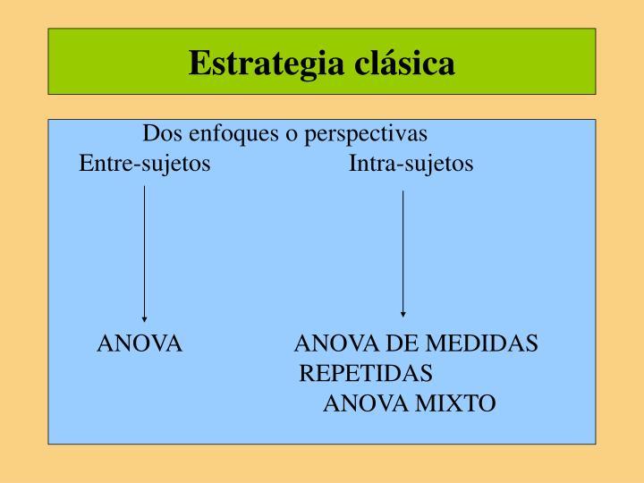 Estrategia clásica