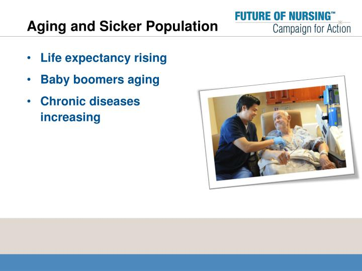 Aging and Sicker Population