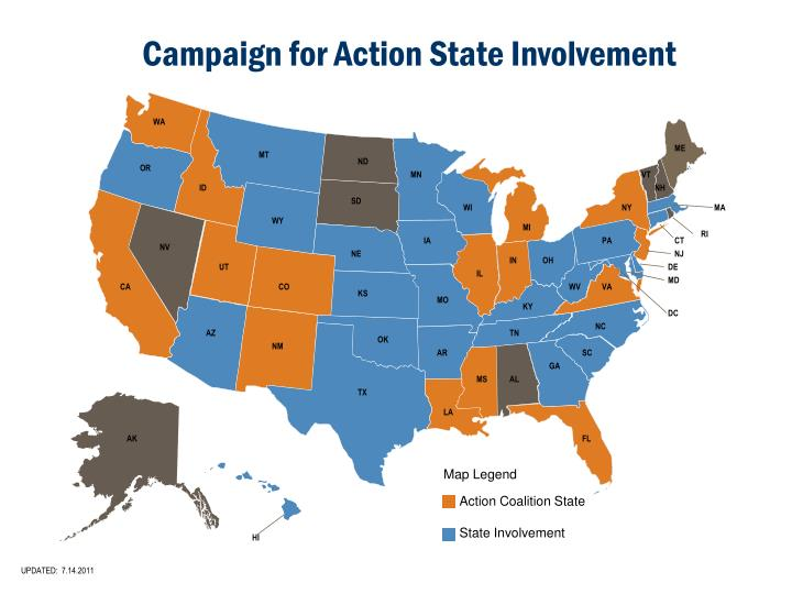 Campaign for Action State Involvement