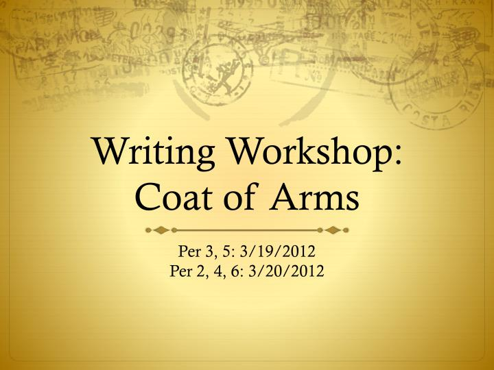 Xoom financial history writing workshops