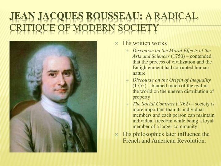 Jean Jacques Rousseau: