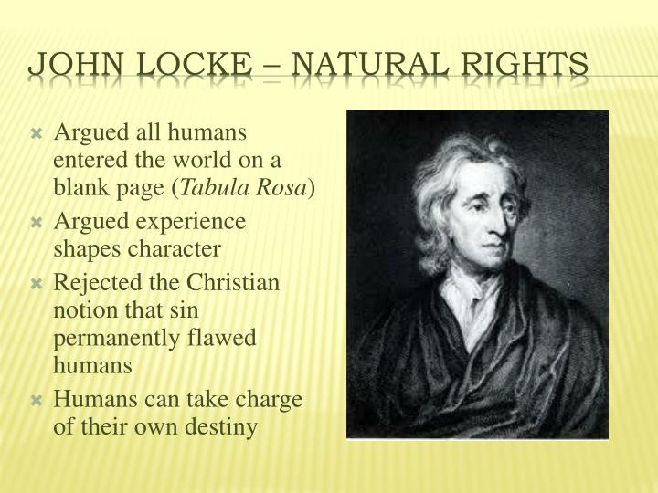 John Locke – Natural Rights