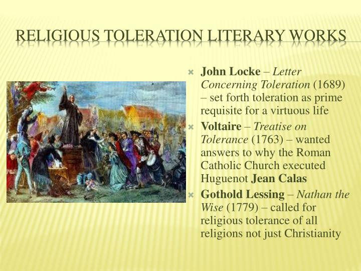 Religious Toleration Literary Works