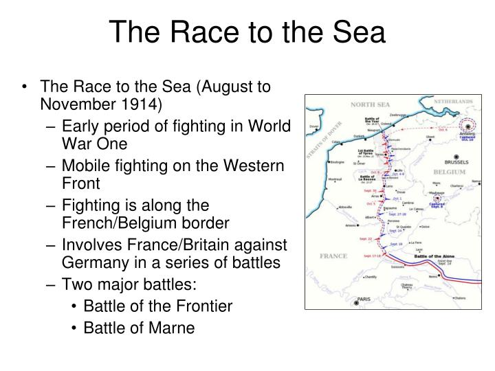 The Race to the Sea