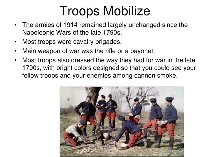 Troops Mobilize