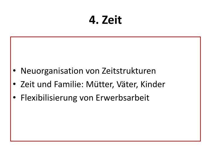 4. Zeit