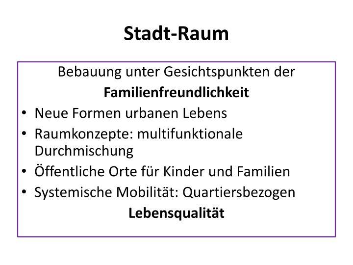 Stadt-Raum