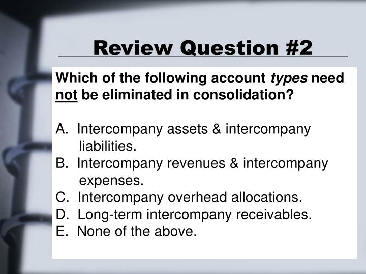 Review Question #2
