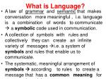 what is language1