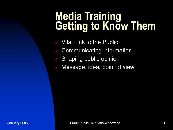 Media Training
