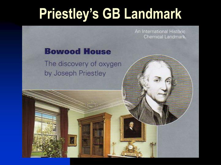 Priestley's GB Landmark