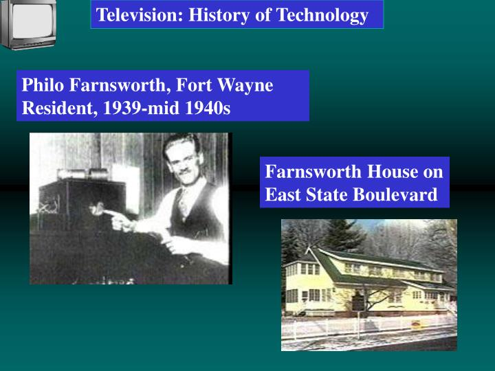 Television: History of Technology