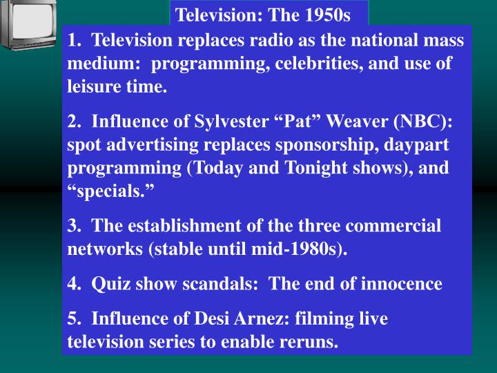 Television: The 1950s