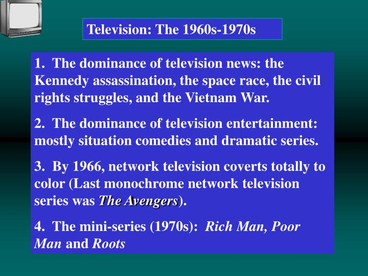 Television: The 1960s-1970s
