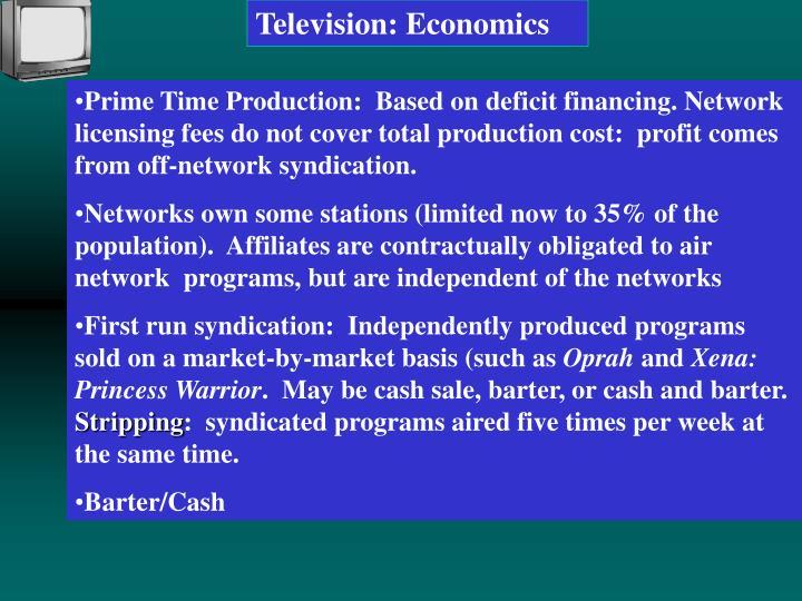 Television: Economics