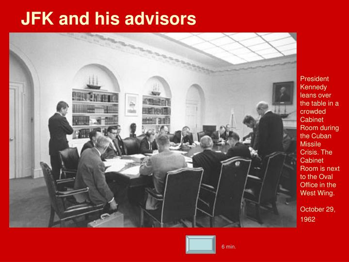 JFK and his advisors