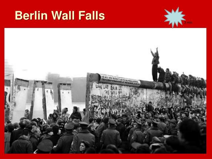Berlin Wall Falls