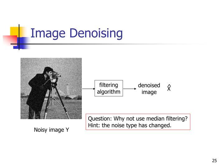 Image Denoising